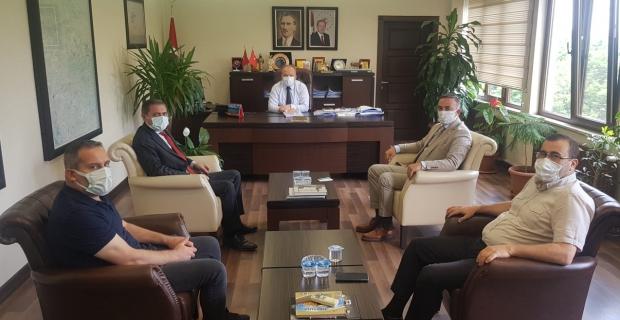 Mehmet Tahtasız, Kargı'nın sorunları kurum müdürlerine iletti