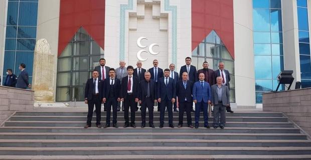 MHP'den Genel Merkez ziyareti