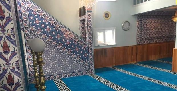 Tepearkası Köyü Camisi tadilat sonrası ibadete açıldı