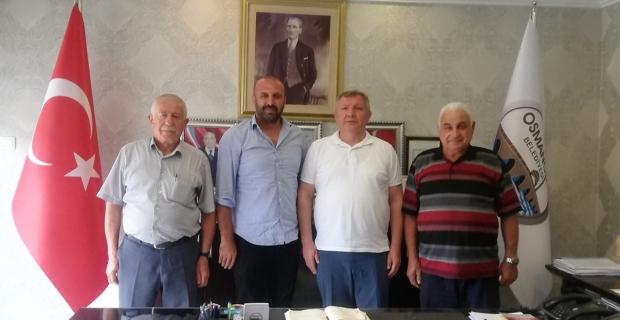 Başkan Gelgör'ü genel kurula davet ettiler