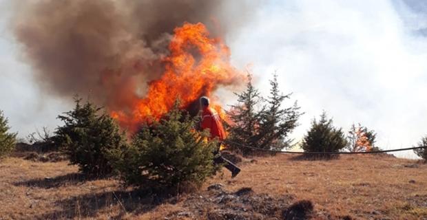 Orman yangınlarına karşı önlem alındı