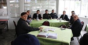Kaymakam Çifci, köylerde halk toplantısı...
