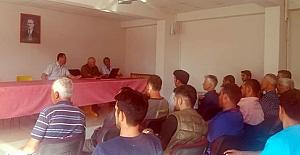 Orman işçilerine iş sağlığı ve güvenliği eğitimi