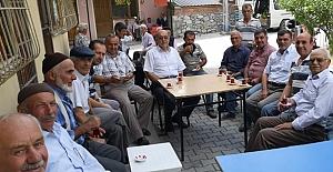 AK Parti Teşkilatı Halıköy'ü ziyaret etti