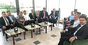 Akpınar'dan Ak Parti milletvekillerine ziyaret