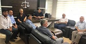 Özdemir ve yönetiminden Milletvekili Kaya'ya ziyaret