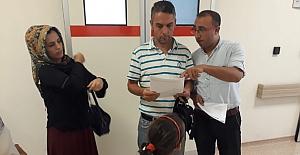 Vatandaşlar Hepatit ile ilgili bilgilendirildi