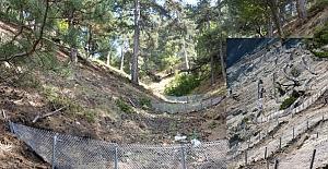 Kargı'da erozyon ve sel kontrol çalışması