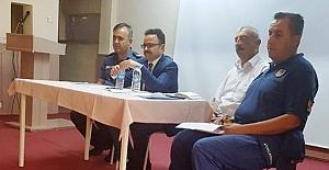 Kargı'da okul güvenliği toplantısı yapıldı