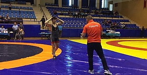 Kargılı güreşçi Balkan şampiyonu oldu