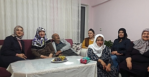 Ak Parti Kadın Kolları Yaşlıları unutmadı