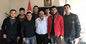 Üniversite öğrencilerinden Başkan Şen'e teşekkür