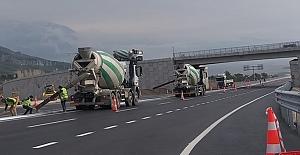 Beygircioğlu Kavşağı üst geçidi trafiğe açıldı