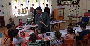 Kargı 125. Yıl Anaokulu miniklerine ziyaret