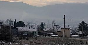 Kargı'ya yılın ilk karı yağdı