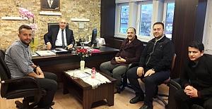 Türk Eğitim Sen'den Genç'e hayırlı olsun ziyareti