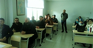 Kargı'da hijyen eğitimi kursu