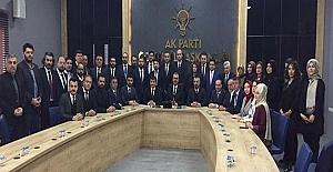 bAK Parti il yönetimi açıklandı/b