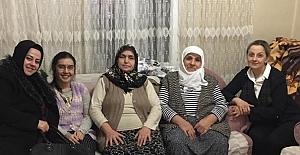MHP'li kadınlardan hasta ve yaşlı ziyareti