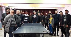 Hacıhamza'da Masa Tenisi Turnuvası