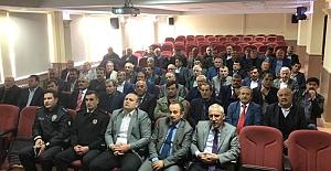Köylere Hizmet Götürme Birliği toplantısı...