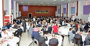 Kargı Belediyesi'nin iftarına yoğun katılım