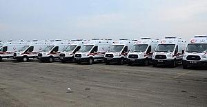 Kargı ve Hacıhamza'ya ambulans verildi