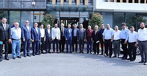 bKargı İlçe Başkanı Özdemir İstanbulda/b