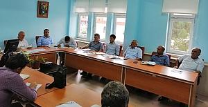 Müdürler Kurulu Toplantısı yapıldı