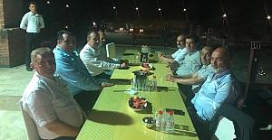 Zeki Şen, vekillerle ve başkanlarla buluştu