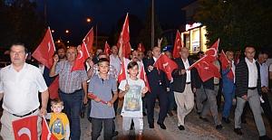 Kargı'da 'Milli Birlik' yürüyüşü