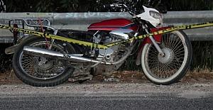 bKargıda motosiklet kazası: 1 yaralı/b