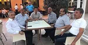 Osmancık'ta toplantıya katıldılar