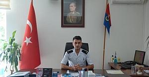 bİlçe Jandarma Komutanı Yılmaz göreve.../b