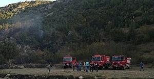 bKargı#039;da orman yangını/b