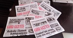 bKargı Gazetesi 4 yaşında/b
