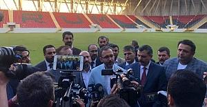 Stadyumu Bakanlık Devralıyor