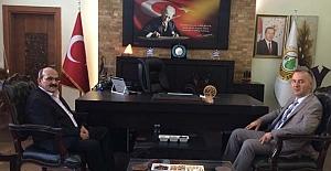 Başkan Şen'den Bölge Müdürü Oflu'ya...
