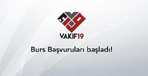 bVakıf 19 Burs Başvuruları Başladı!/b