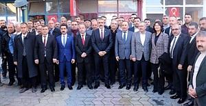 Kargı İlçe Başkanı Raşit Erdoğan da katıldı