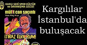 Kargılılar İstanbul'da buluşacak