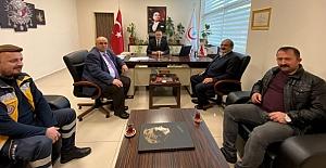 Başkan Şen, hastaneyi ziyaret etti