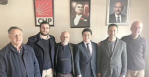 CHP Kargı İlçe Başkanına ziyaret