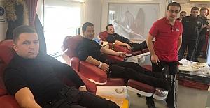 Emniyet'ten kan bağışına destek