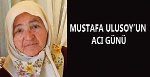 bGazeteci Mustafa Ulusoyun acı günü/b