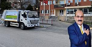 Kargı Belediyesi'ne yeni çöp aracı