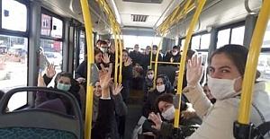 bYolcu otobüsleri yarı kapasite çalışacak/b