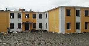 Deprem riski taşıyordu, yıkımına başlandı