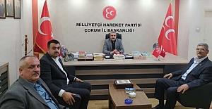 MHP Kargı İl Başkanlığını ziyaret etti