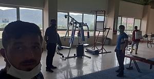 Stat ve spor salonu kapılarını açtı